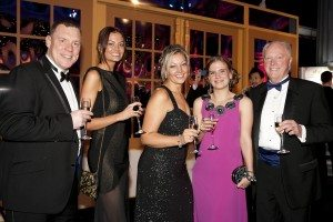 From left to right Andrew Rowe, Francesca Crossling, Sara Hall, Tracey Turner, Martin Barber