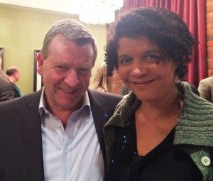 DLNE, Gary Coyle (L) and Chi Onwurah (R) 3